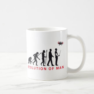 evolution OF one controlling drone Coffee Mugs