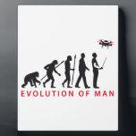 "evolution OF one controlling drone Plaque<br><div class=""desc"">drone model</div>"