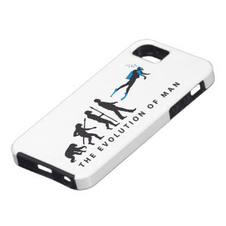 evolution OF one diving sport iPhone SE/5/5s Case
