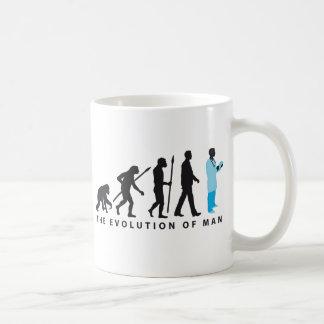 evolution OF one doctor OF medicine physician Coffee Mug