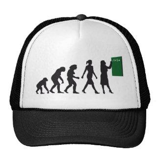 evolution OF one female Trucker Hat
