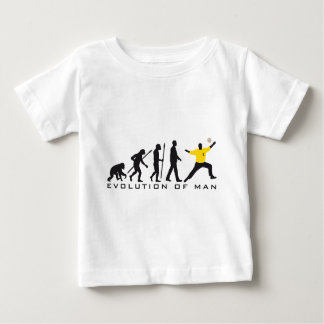evolution OF one hand ball goal more keeper Baby T-Shirt