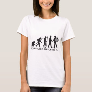 evolution OF one marching bound floods timpani T-Shirt