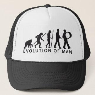 evolution OF one marching bound floods timpani Trucker Hat
