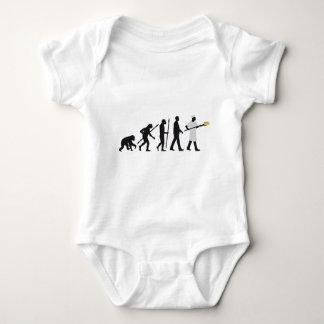 evolution OF one more baker Baby Bodysuit