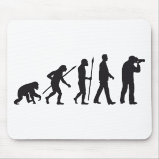 evolution OF one more photographer Mouse Pad