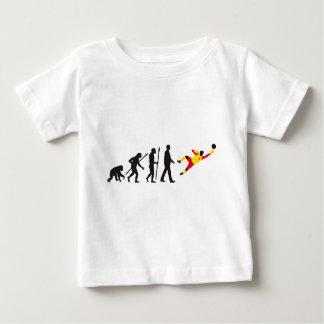 evolution OF one more soccer goal more keeper Baby T-Shirt