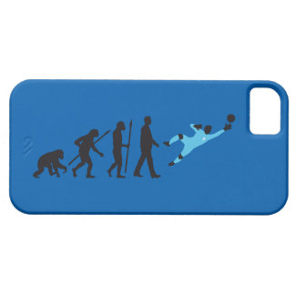 evolution OF one more soccer goal more keeper iPhone SE/5/5s Case