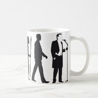 evolution OF one opera more singer Coffee Mug