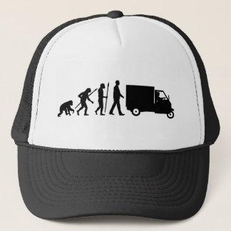 Evolution OF one Piaggio Ape mini transporter Trucker Hat