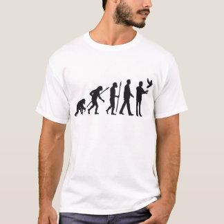 evolution OF one pigeon more fancier T-Shirt
