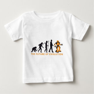 evolution OF one robot Baby T-Shirt