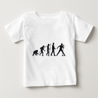evolution OF one rock metal more singer Baby T-Shirt