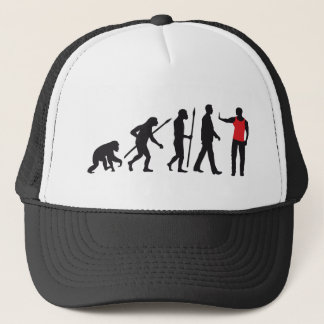 evolution OF one security doorman Trucker Hat