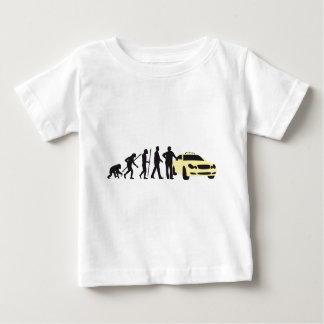 evolution OF one taxi more driver Baby T-Shirt