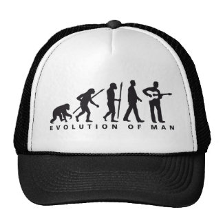 evolution OF one western acoustic guitar more play Mesh Hat