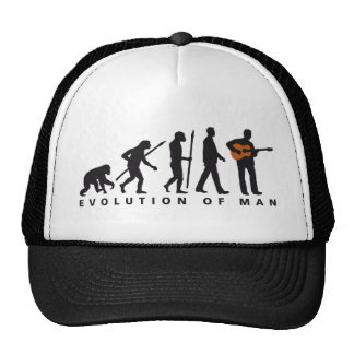evolution OF one western acoustic guitar more play Trucker Hat