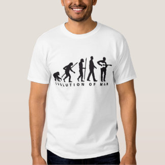 evolution OF one western acoustic guitar more play T Shirt