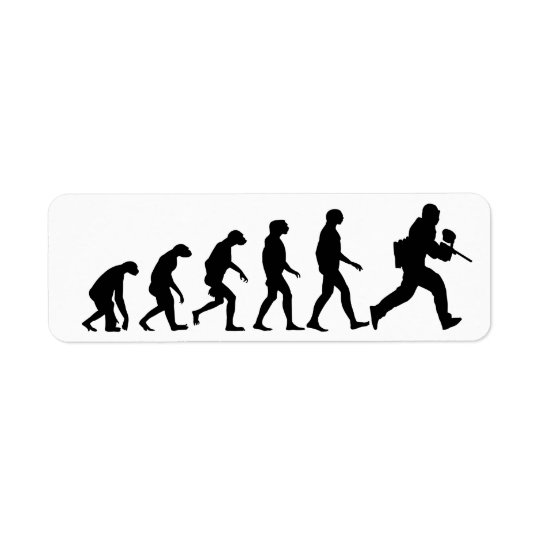 Evolution of Paintball Label