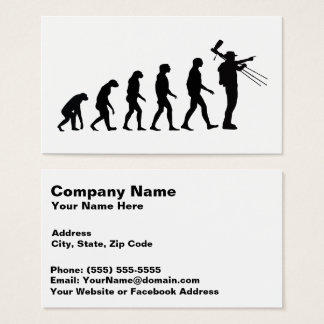 Evolution of Photography 3 Amazing Business Card