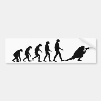 Evolution of Photography Bumper Sticker