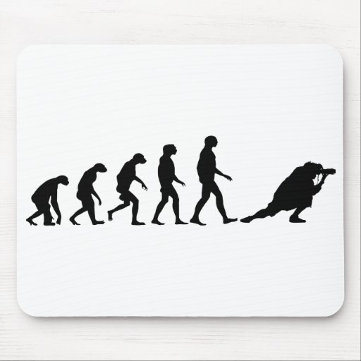 Evolution of Photography Mouse Pad
