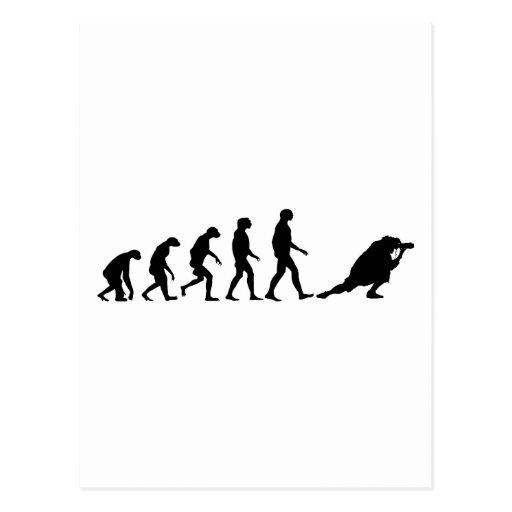 Evolution of Photography Postcard