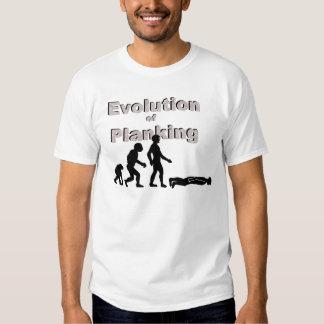 Evolution of Planking T Shirt