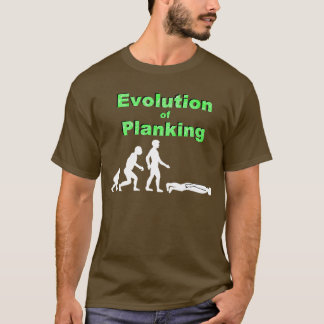 Evolution of Planking T-Shirt