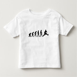 Evolution of Rollerblading Toddler T-shirt