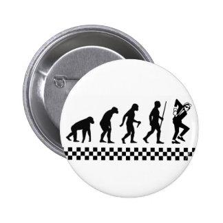 Evolution of Ska Badge Pin