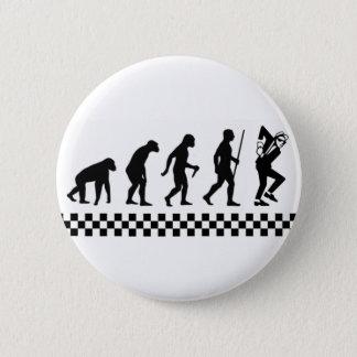 Evolution of Ska Badge Pinback Button