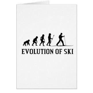 Evolution Of Ski Card