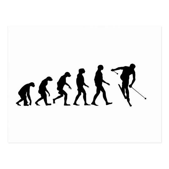 Evolution of Ski Postcard