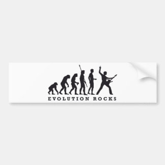 evolution of skirt car bumper sticker
