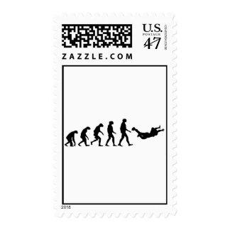 Evolution of Skydiving Postage