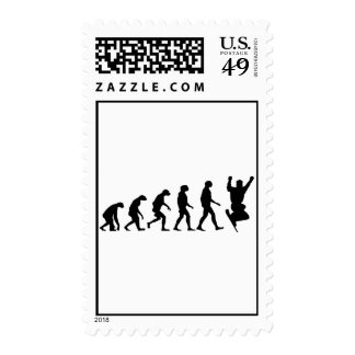 Evolution of Snowboarding Postage