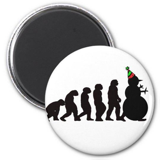 Evolution of Snowman Magnet