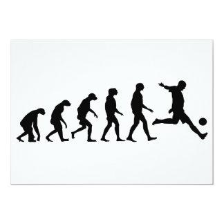 Evolution of Soccer Card