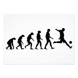Evolution of Soccer Custom Invite