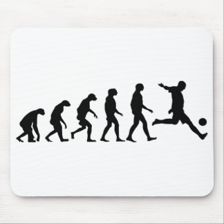 Evolution of Soccer Mouse Pad