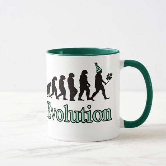 Evolution of St. Patrick! Mug