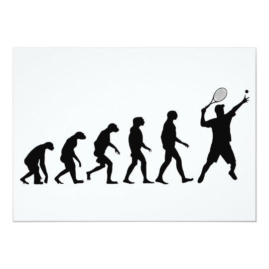 Evolution of Tennis Card