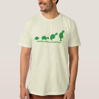 Evolution of the Awkward Turtle T-Shirt