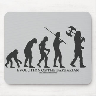 Evolution of the Barbarian Mouse Pad