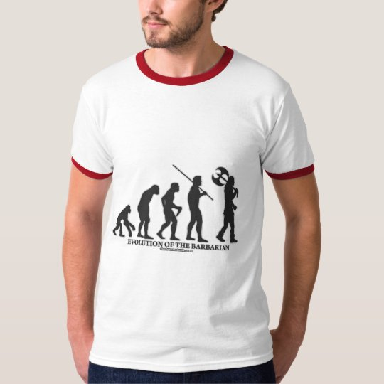 Evolution of the Barbarian T-Shirt