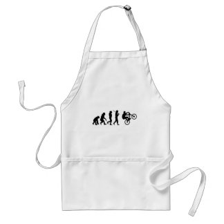 Evolution of the cyclist adult apron