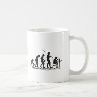Evolution of the DM Coffee Mug