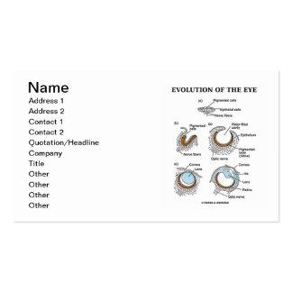 Evolution Of The Eye (Developmental Biology) Business Card Template