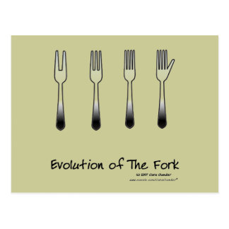Evolution of The Fork Postcard